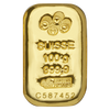 100 g Gold Cast Bar - Certificate of Authenticity - .9999 AU - Pamp Suisse