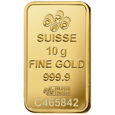 Buy 10 Gram Gold bar PAMP Suisse Lady Fortuna Series