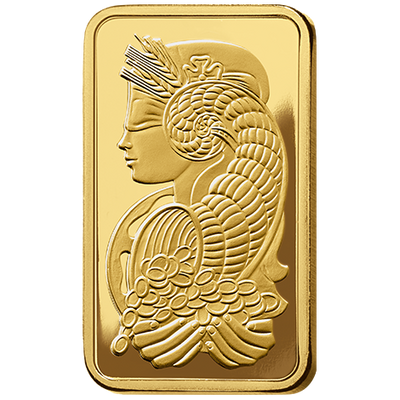Buy 1 oz Gold bar PAMP Suisse Lady Fortuna Series