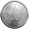 5 oz Silver Starter Kit - 5 x 1 Oz 2021 Silver Maple Leaf Coins from Royal Canadian Mint