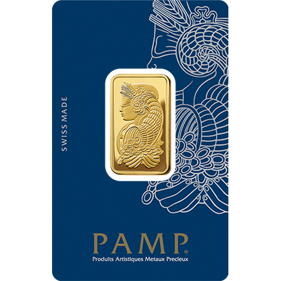 Buy 20 G Lady Fortuna Gold PAMP Suisse Bar