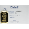 Buy 100 g Gold Bar PAMP Suisse Cast Authentication Buy 100 gram Gold Cast Bar