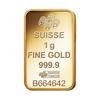 Buy 1 g Gold PAMP Suisse Bar Lady Fortuna Series 1gram PAMP