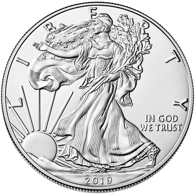 Buy 1 Oz Silver Coin US Mint American Eagle Buy 1 Oz Silver Eagle Reverse