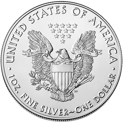 Buy 1 Oz Silver Coin US Mint American Eagle Buy 1 Oz Silver Eagle Obverse