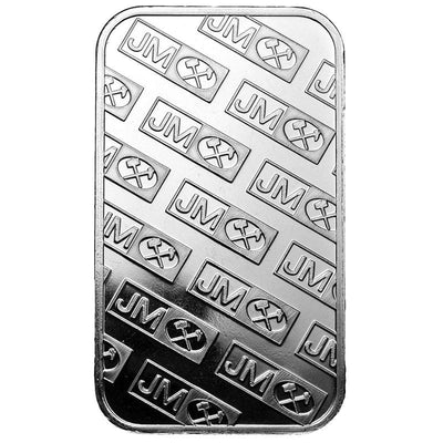 Buy 1 Oz Silver JM Bar Johnson Matthey Bar 1 Oz Jm Bar Silver Buy 1 Oz Silver Bar