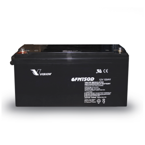 VISION 6FM150D 10YRS DEEP CYCLE BATTERY