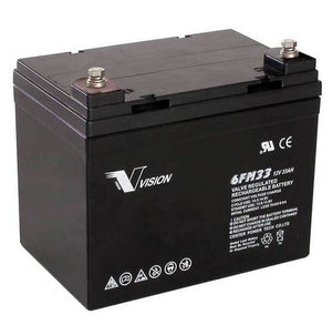 VISION 6FM33D 10YRS DEEP CYCLE BATTERY