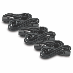 APC Power Cord Kit (6 ea), C19 to C20 (90 degree), 1.8m