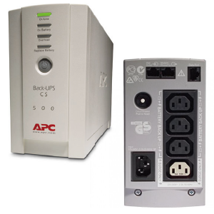 APC Back-UPS CS 500VA USB/Serial 230V BK500EI