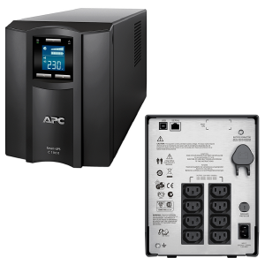 APC Smart-UPS C 1000VA LCD Tower 230V SMC1000I