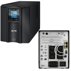 APC Smart-UPS C 2000VA LCD Tower Only 230V SMC2000I