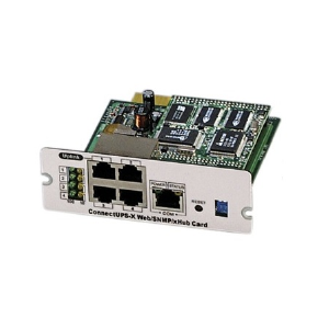 X-Slot ConnectUPS SNMP/Web Adaptor CONNECTUPSX