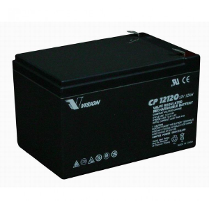 VISION CP SERIES - CP12120 - 12V 12AH Battery