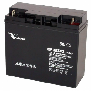 VISION CP SERIES - CP12170 - 12V 17AH Battery