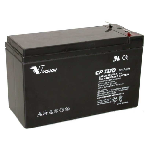 VISION CP SERIES - CP1270 - 12V 7AH Battery