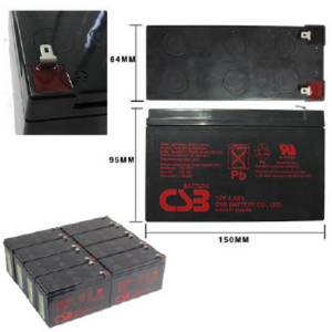 APC Symmetra SYBTU1-PLP Replacement Battery