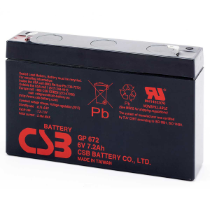 CSB GP Series - GP672 - 6V 8.4AH Battery GP672