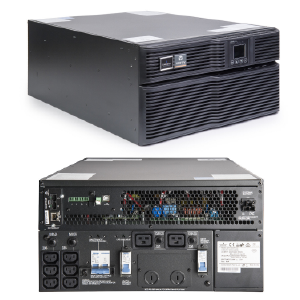 Emerson Liebert GXT4 On-Line 5000VA 230V LCD PF0.8 5U Extended Run Rack/Tower Multilink Software, Rail Kit and WEB/SNMP bundled GXT4-5000RT230