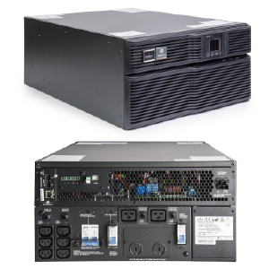Emerson Liebert GXT4 On-Line 6000VA 230V LCD PF0.8 5U Extended Run Rack/Tower Multilink Software, Rail Kit and WEB/SNMP bundled GXT4-6000RT230