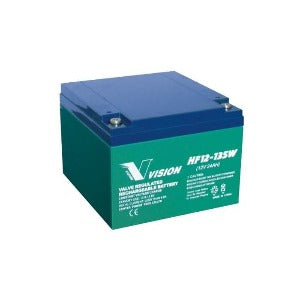VISION - HF12135 - HIGH RATE 10 YR BATTERY 12V
