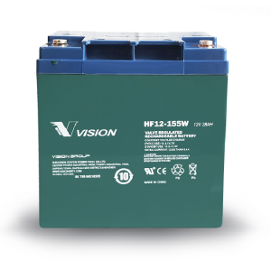 VISION - HF12155 - HIGH RATE 10 YR BATTERY 12V