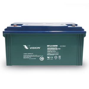 VISION - HF12560 - HIGH RATE 10 YRS BATTERY 12