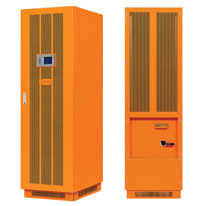 UPS Solutions Makelsan 20kVA Scalable to 200kVA, 3 Phase Scalable Modular Architecture Frame, Scalable w/20kW Power Modules, SNMP and dry contact - 1 Year Warranty