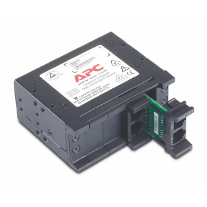APC 4 position chassis for replaceable data line surge protection modules, 1U