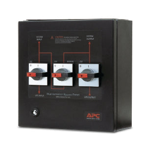 APC Smart-UPS VT Maintenance Bypass Panel 10-20kVA 400V Wallmount
