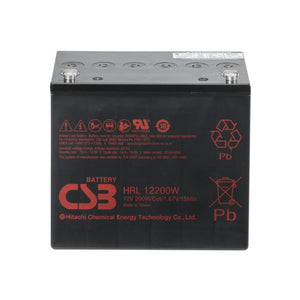 CSB HRL Long Life Series - HRL12200W - 12V Battery HRL12200W
