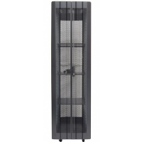 42RU Heavy Duty Rack - Includes 3 x shelfs, 4 x fans, Power Rail, Cage Nuts, Castor wheels & Levelling feet