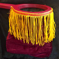 Burgundy Change Bag - One Hand With Zipper