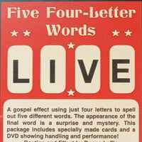 Five Four-Letter Words (with DVD) SMALL