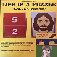 Life Is A Puzzle:  Easter Version