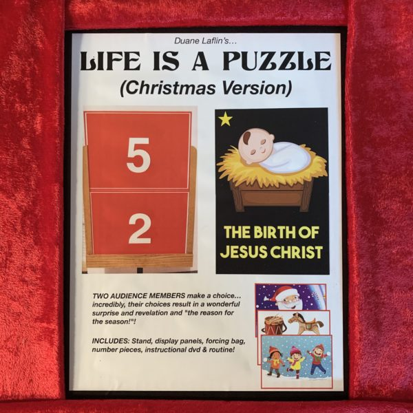 Life Is A Puzzle:  Christmas Version
