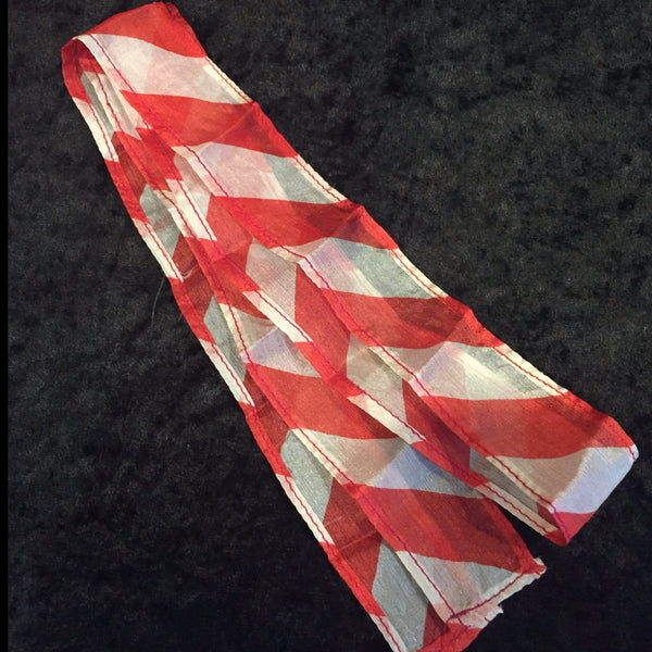 Thumb Tip Streamer (Red and White)