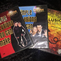 Simple Illusions You Can Make DVD Combo Set of 3