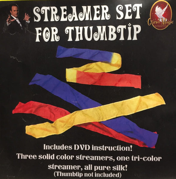 Streamer Set for Thumbtip with DVD