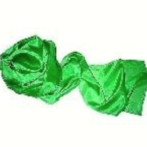"Green Silk Streamer 8"" x 16'"