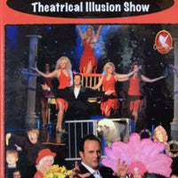 The Theatrical Illusion Show by Duane Laflin -Hard Cover Book