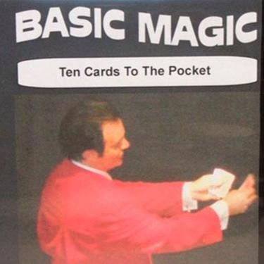 Basic Magic - Ten Cards to Pocket DVD