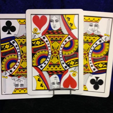 Giant Three Card Monte