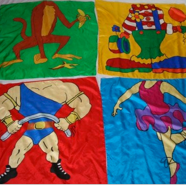 Headless Cartoon Silks