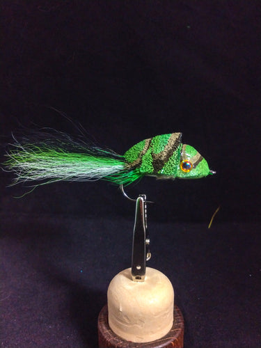 2/0 Green diver/bucktail