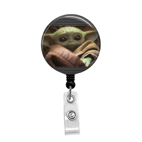 Baby Yoda - Retractable Badge Holder - Badge Reel - Lanyards - Stethoscope Tag