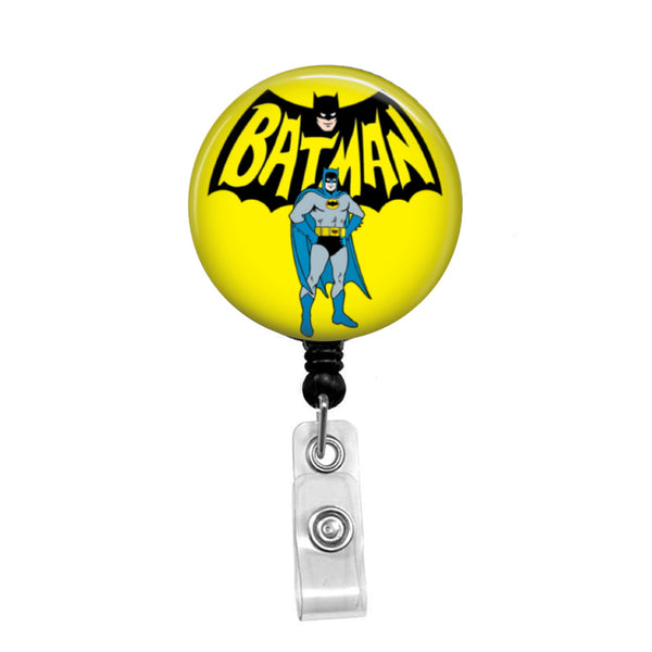Batman, Original - Retractable Badge Holder - Badge Reel - Lanyards - Stethoscope Tag