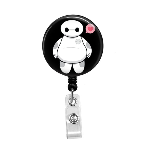 Baymax - Retractable Badge Holder - Badge Reel - Lanyards - Stethoscope Tag