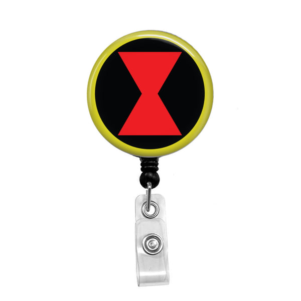 Black Widow - Retractable Badge Holder - Badge Reel - Lanyards - Stethoscope Tag