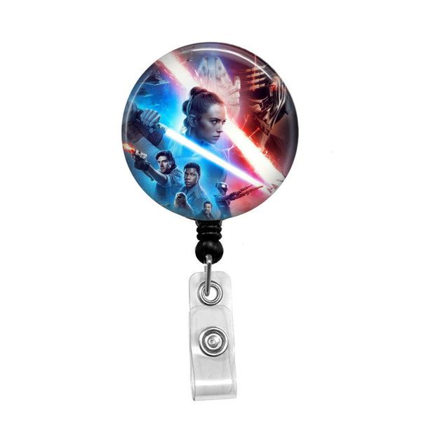 Star Wars 2 - Retractable Badge Holder - Badge Reel - Lanyards - Stethoscope Tag